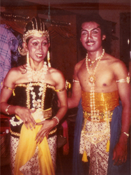 Wenten and Nanik as Rama and Sita